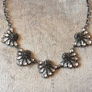 Black Chain Statement Necklace